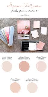 the best 5 pink paint colors sherwin william paint soft corals