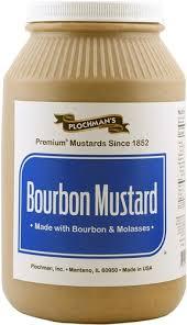 plochman s mustard bourbon mustard 1 gal