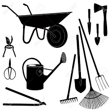 gardening tools and equipment clipart clipartfest