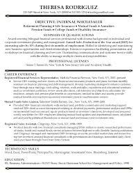 sample resume for financial service representative financial