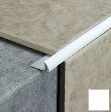 wall corners and other tiled edges with our range of pvc tile