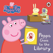peppa pig halloween peppa pig peppa goes to the library my first storybook