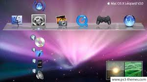 background themes mac ps3 themes apple mac os x leopard v2 0