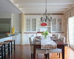 how to decorate a buffet dining room traditional with place