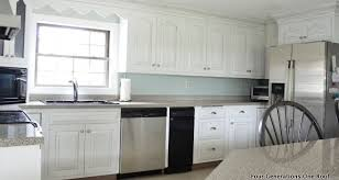 Kitchen No Backsplash How To Install A Backsplash Fascinating No Backsplash In Kitchen