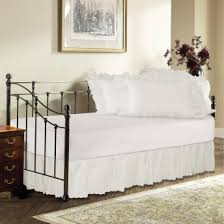 Daybed Dust Ruffle Day Bed Ruffled Bed Skirt Shopbedding