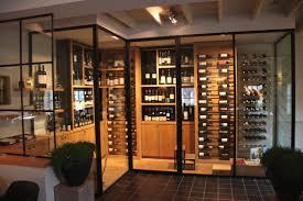Wine Cellar Bistro - merckx interieurbouw realisatie wijnkamer bistro margaux hoog