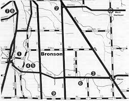 Norwalk Ohio Map by Bronson Gif
