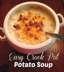 simply made with love easy crockpot potato soup