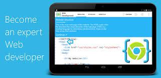 cara membuat website via html aide web html css javascript apps on google play