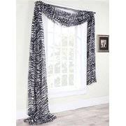 Zebra Curtain Panels Zebra Print Curtains