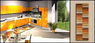 tappeti cucina on line tappeti per la cucina tappeto cucina in cotone decoro strisce