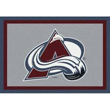 Nhl Area Rugs Colorado Avalanche Area Rug Nhl Avalanche Area Rugs