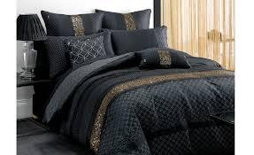 Duvet Covers Online Australia Deco Or Et Noir Wilkerson Black Gold Quilt Cover Set By Deco