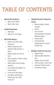 cookbook table of contents it s here cookbook launch day everyday hcg