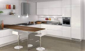 eat in galley kitchen beautiful white tiles countertop mounting