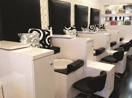 Nail Tech Desk by Glo Puts A Twist On Traditional Nail Treatments Business Nails