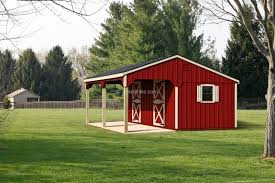 Red Barn Kennel A Frame Chicken Coops And Dog Kennels Wooden Amish Mike