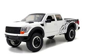ford raptor truck pictures amazon com 2011 ford f 150 svt raptor truck white 1 24 by