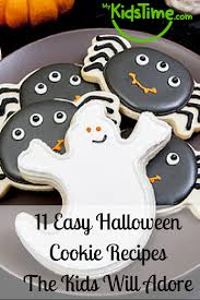 easy halloween cookie recipes the kids will adore