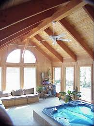 ceiling vivacious exposed rafters with indoor plants and ceiling