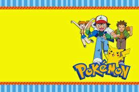 pokemon birthday invite cloveranddot com
