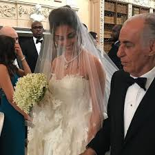 first look naza and folarin alakija u0027s wedding robin thicke