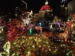 Portland Christmas Lights Christmas Light Picture Of The Grotto National Sanctuary Of