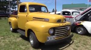 Vintage Ford Truck Bumpers - vintage yellow ford truck youtube