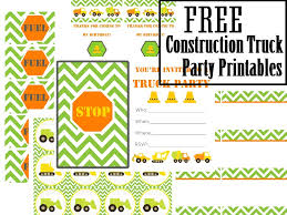 fpf truck party printables vixenmade parties