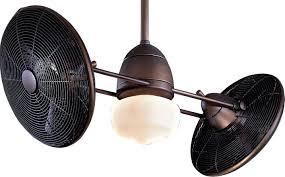 Twin Ceiling Fan by Minka Aire F402 Orb Gyro 42