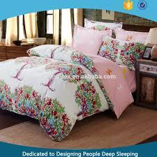 sale microfiber printed bedding set with stripe design good