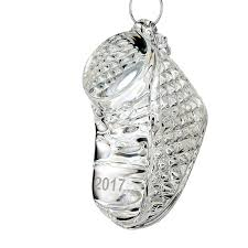 2017 baby s ornament waterford silver