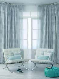 Turquoise Living Room Curtains Decoration Jabot Curtains For Vintage And Romantic Look Will Make