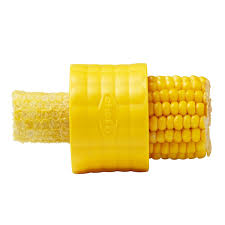 amazon com chef u0027n cob corn stripper yellow kitchen u0026 dining