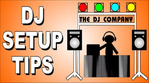 dj table for beginners how to dj mobile dj equipment set up for beginners youtube