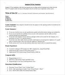 example it resume summary it resume 8 free word pdf documents download free u0026 premium