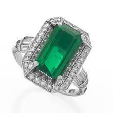 emerald ring art nouveau decorative arts