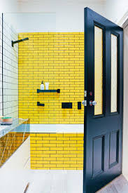 Yellow And Grey Bathroom Ideas by Best 25 Yellow Tile Bathrooms Ideas On Pinterest Yellow Tile