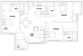 floor plans the village at science drive student housing