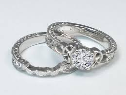 celtic wedding sets celtic engagement rings from mdc diamonds nyc