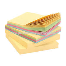 self stick paper china customized self adhesive memo pad with cover stick paper notes