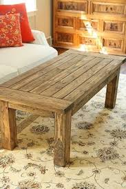rustic coffee table success do it yourself home projects from