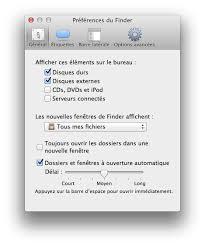 mac comment afficher l icône du disque dur sur bureau