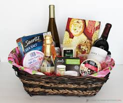 wine and cheese basket 5 creative diy christmas gift basket ideas for friends family
