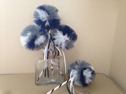 Dallas Cowboys Drapes by Dallas Cowboys Decor Tulle Wands Dallas Cowboys Favors Dallas