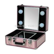 Portable Vanity Table Free Shipping Small Makeup Case With Lights Professional 10 Cool
