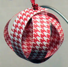 funezcrafts easy crafts paper sphere ornament
