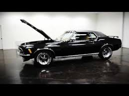 1970 Black Mustang 1970 Ford Mustang Grande Youtube