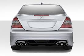 Mercedes Benz E 2003 03 09 Mercedes E Class W 1 Duraflex Rear Body Kit Bumper 112234